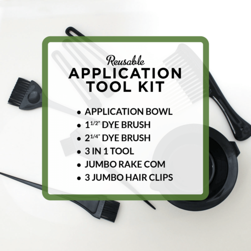 henna hair dye application tool kit