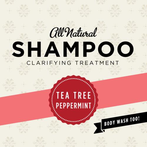 HCL Organic Sulfate Free Tea Tree Shampoo