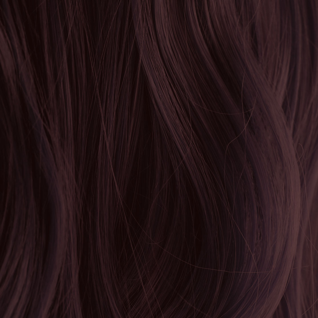 Henna mahogany hair color