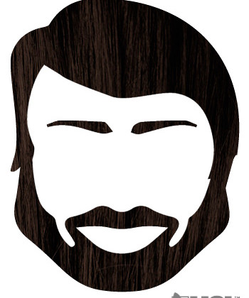 Dark Brwon Henna Beard Dye: Use for Hair Too.