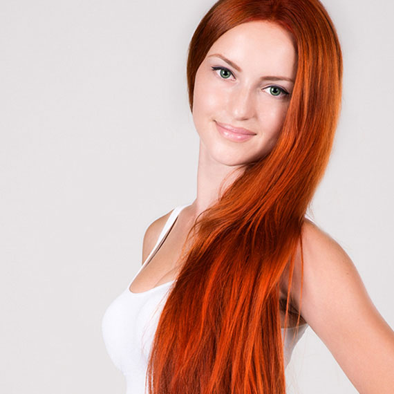 How To Dye Over Natural Red Hair