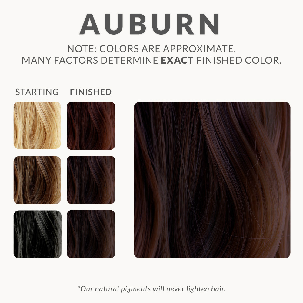 Auburn Henna Hair Dye Henna Color Lab 174 Henna Hair Dye