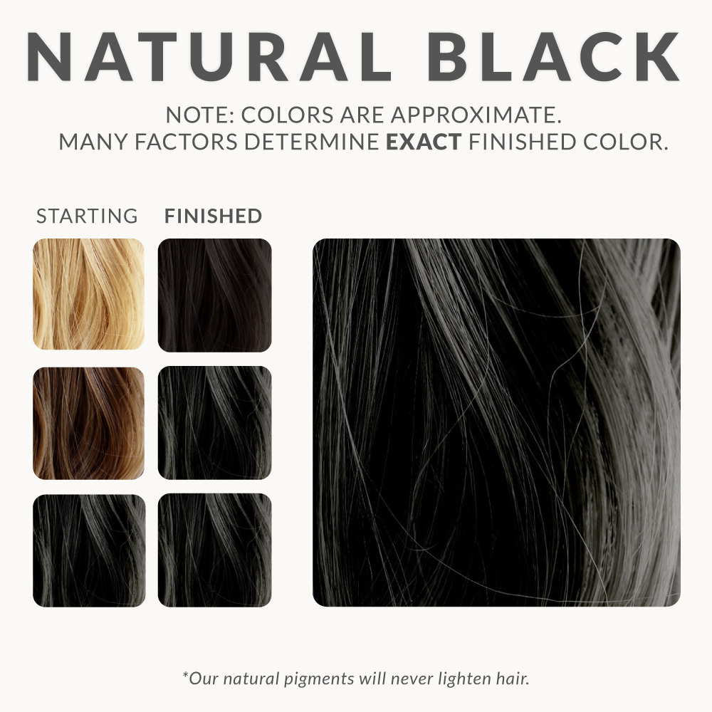 Natural Black Henna Hair Dye Henna Color Lab Henna Hair Dye