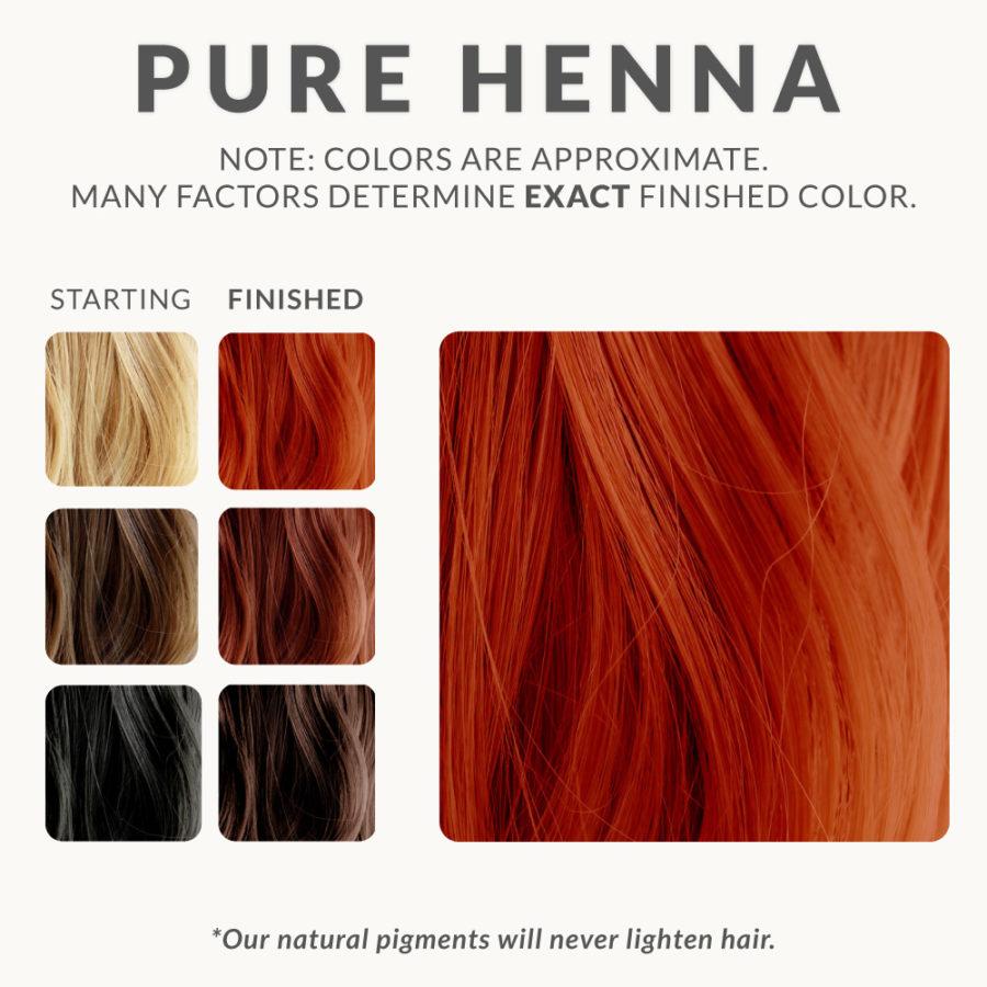 Pure Henna Hair Dye
