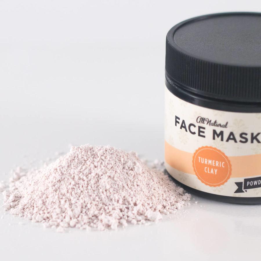 Turmeric Clay Face Mask